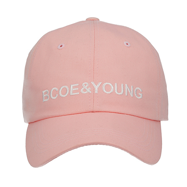 BCOE&YOUNG CAP PINK 비코 유기견 유기묘 후원모자 BCOE