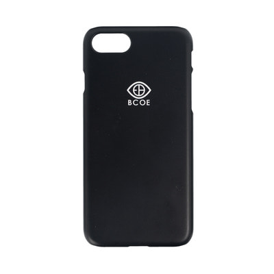LOGO SIMPLE PHONE CASE black 후원 폰케이스 비코 BCOE