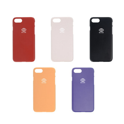 [4SET] LOGO SIMPLE PHONE CASE 후원 폰케이스 비코 BCOE